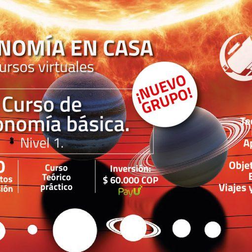 Curso de Astronomía básica. Nivel 1