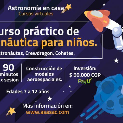Curso práctico de Astronáutica para niños 2