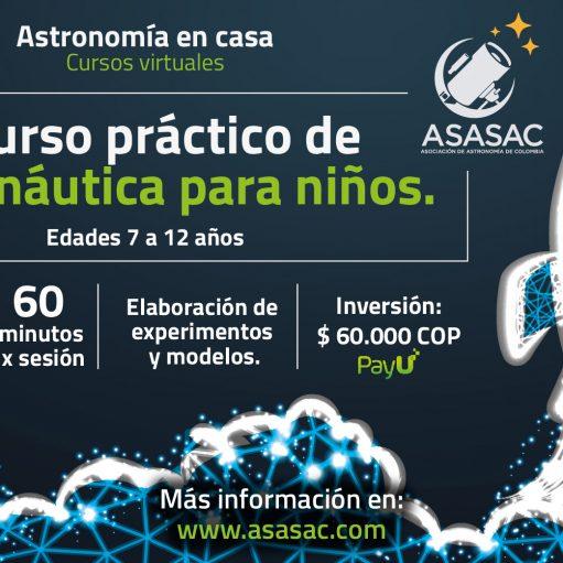 Curso práctico de Astronáutica para niños