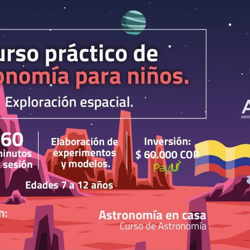 Curso práctico de Astronomía para niños: Exploración espacial