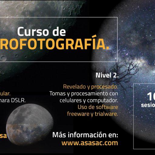 Curso de Astrofotografía